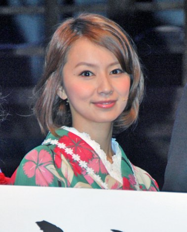 ミュージカル『走れメロス』公開リハーサルに出席した鈴木亜美 (C)ORICON DD inc.