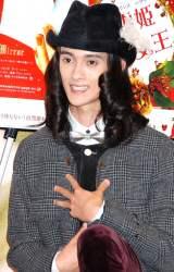 映画『白雪姫と鏡の女王』(9月14日(金)公開)公開記念トークショーに出席した栗原類 (C)ORICON DD inc.