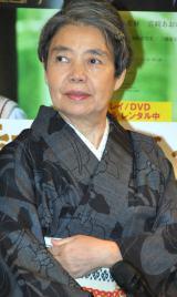 映画『わが母の記』ブルーレイ&DVD発売記念イベントに出席した樹木希林 (C)ORICON DD inc.