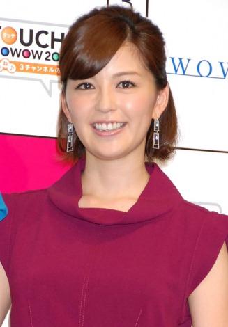 『TOUCH!WOWOW2012 いいね♪3チャンネルの日』記者会見に出席した中野美奈子アナ (C)ORICON DD inc.