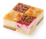 フローズンキューブケーキ<イチゴ&ベイクドチーズ>