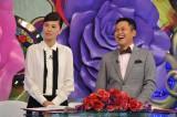 新番組『私の何がイケないの?』(10月8日スタート)のMCを務めるくりぃむしちゅー・有田哲平(右)と江角マキコ (C)TBS