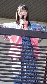 初主演映画『劇場版 ミューズの鏡 マイプリティドール』(9月29日公開)大ヒット祈願豆まき大会を行ったHKT48の指原莉乃 (C)ORICON DD inc.