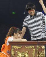 ついに初の選抜落ち… 梅田彩佳に敗れたAKB48・小嶋陽菜(撮影:鈴木かずなり)