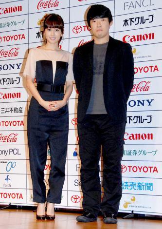 『東京国際映画祭』のアンバサダーに就任した前田敦子(左)と松江哲明監督  (C)ORICON DD inc.
