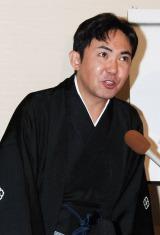 初代林家三平、三十三回忌法要に出席した二代目三平 (C)ORICON DD inc.
