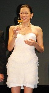 『ブルガリ ブリリアント・ドリーム・アワード2012』を受賞した米倉涼子 (C)ORICON DD inc.
