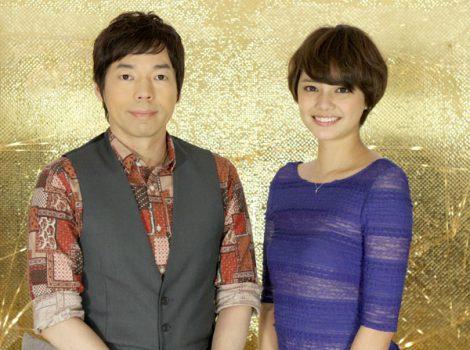 日本テレビ系バラエティ『アナザースカイ』で初MCに挑戦するモデルの岸本セシル(右)と今田耕司
