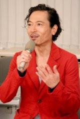 NHKドラマスペシャル『実験刑事トトリ』の取材会に出席した三上博史 (C)ORICON DD inc.