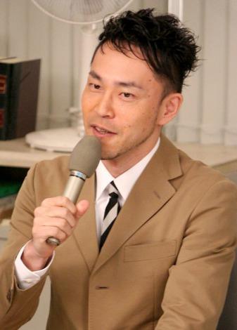 NHKドラマスペシャル『実験刑事トトリ』の取材会に出席した脚本家の西田征史氏 (C)ORICON DD inc.
