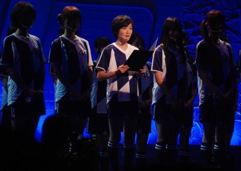 『スカパー!アワード2012』授賞式に出席した乃木坂46・生駒里奈 (C)ORICON DD inc.