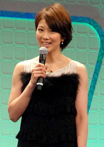 『スカパー!アワード2012』授賞式に出席した潮田玲子 (C)ORICON DD inc.