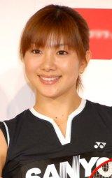 柏レイソル増嶋竜也選手と結婚を発表した潮田玲子 (C)ORICON DD inc.