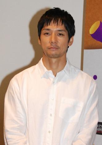 Uchi Cafe SWEETS』(ローソン)3周年記念感謝イベントに出席した西島秀俊 (C)ORICON DD inc.