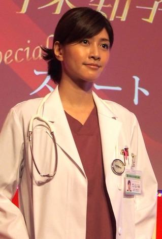 ドラマ『Doctor-X』の制作発表会見に出席した内田有紀 (C)ORICON DD inc.