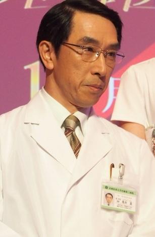 ドラマ『Doctor-X』の制作発表会見に出席した段田安則 (C)ORICON DD inc.