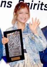 『ベストジーニスト2012』の「協議会選出部門」を受賞したローラ (C)ORICON DD inc.