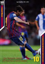 バルサ初回購入特典のメッシ最多ゴール記念スペシャルカード