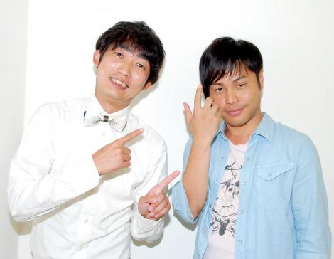 サムネイル 結婚を発表したNON STYLEの石田明(左)と相方の井上裕介(右) (C)ORICON DD inc.