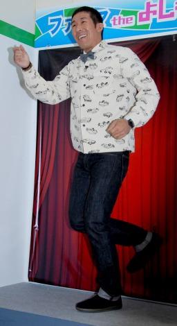 『ファミリーマート・よしもとスペシャルコラボ店舗』オープニングセレモニーに出席した麒麟の田村裕 (C)ORICON DD inc.