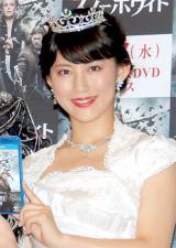 映画『スノーホワイト』ブルーレイ&DVD発売記念イベントに出席した福田彩乃 (C)ORICON DD inc.