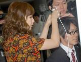 頭髪検査に挑戦 (C)ORICON DD inc.