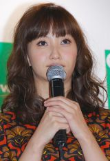 AGA(男性型脱毛症)疾患啓発イベントに出席した藤本美貴 (C)ORICON DD inc.
