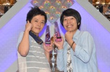 平成24年度NHK新人演芸大賞で大賞を受賞した結成4年目のうしろシティ(右が阿諏訪泰義、左が金子学) (C)NHK