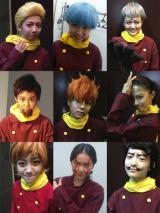 私立恵比寿中学のメンバーが映画『009 RE:CYBORG』のキャラクターに