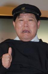 映画『パラノーマル・アクティビティ4』の公開記念イベントに出席したダチョウ倶楽部・上島竜兵 (C)ORICON DD inc.