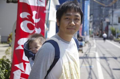 来年1月放送のドラマ『まほろ駅前番外地』で弁当屋を営んでいる子持ちの山田を演じる大森南朋 (C)テレビ東京
