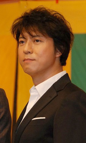 NHK大河ドラマ『平清盛』クランクアップセレモニーに出席した上川隆也 (C)ORICON DD inc.