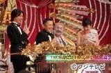 昨年12月に放送された『THE MANAI 2011』 司会のナインティナイン、ビートたけし、右端は高島彩