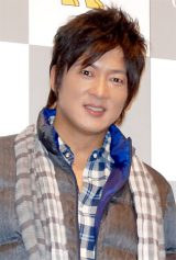 ゴールデンベア『ウルトラダウン2012』新商品発表会に出席した細川茂樹 (C)ORICON DD inc.