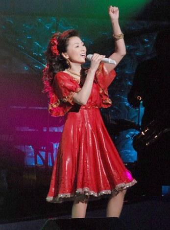 デビュー30周年記念コンサートを行った長山洋子 (C)ORICON DD inc.