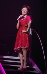 デビュー30周年記念コンサートを行った長山洋子