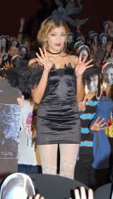 映画『パラノーマル・アクティビティ4』の公開前夜祭 ハロウィンイベントに参加したローラ (C)ORICON DD inc.