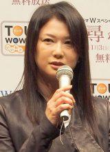 ドラマ『尋ね人』完成披露試写会、舞台あいさつに出席した夏川結衣 (C)ORICON DD inc.