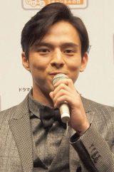 ドラマ『尋ね人』完成披露試写会、舞台あいさつに出席した満島真之介 (C)ORICON DD inc.