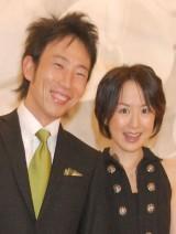 第2子妊娠を発表した(左から)夫・モンキッキー、山川恵里佳 (C)ORICON DD inc.