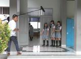 仲川遥香と高城亜樹らが出演するインドネシアの『ポカリスエット』新CMメイキングカット(C)JKT48 project