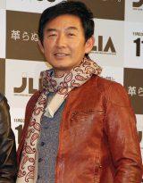『ベストレザーニスト2012』で2年連続で皮革親善大使に任命された石田純一 (C)ORICON DD inc.