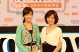 中野美奈子はフジテレビ退社後、他局初仕事となった(C)WOWOW