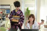 11月8日放送の第3話は料理研究家、花山三恵(平岩紙)が食道ガンで入院してくる(C)テレビ朝日