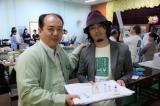 首都ネビドーの予防接種拡大センターで現地の医師と(写真/増田玄樹)