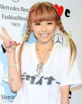 自身のブランド『w・c』ファッションショーを初開催 出産後初めてメディアの前に登場した若槻千夏 (C)ORICON DD inc.