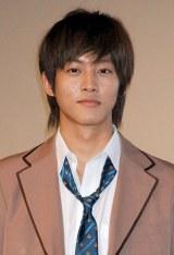 映画『今日、恋をはじめます』完成披露舞台あいさつに登壇した松坂桃季 (C)ORICON DD inc.
