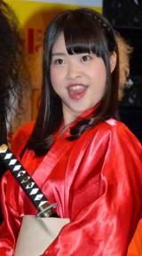 『R-1ぐらんぷり2013』の開催発表記者会見に出席したHKT48の中西智代梨 (C)ORICON DD inc.