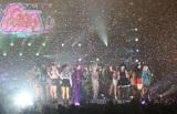大盛況した『GirlsAward 2012 AUTUMN/WINTER』フィナーレの模様(写真:片山よしお)