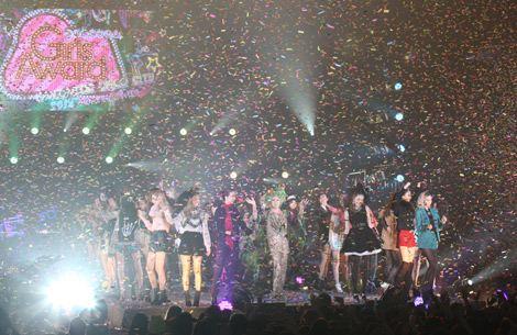 サムネイル 大盛況した『GirlsAward 2012 AUTUMN/WINTER』フィナーレの模様(写真:片山よしお)